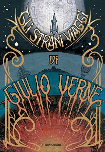 Gli strani viaggi di Giulio Verne - Copertina
