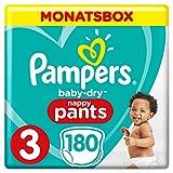 Pampers Baby-Dry Pants, Gr. 3, 6-11kg, Monatsbox, 1er Pack (1 x 24 Stück)
