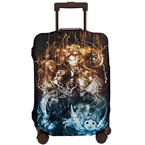 Fairy Tail Natsu Dragneel Travel Maleta Protector Único Lavable Lindo e Interesante Reconocimiento Elástico
