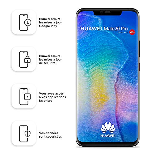 "Huawei Mate 20 Pro 16,2 cm (6.39"") 6 GB 128 GB Dual SIM ibrida 4G 4200 mAh, Colore Nero"