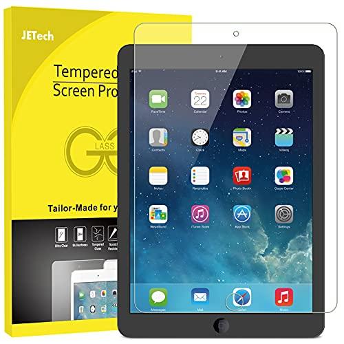 JETech Protector de Pantalla compatible iPad (9,7 Pulgadas, 2018/2017 Modelo, 6ª / 5ª generación), iPad Air 1, iPad Air 2, iPad Pro 9,7', Vidrio Templado