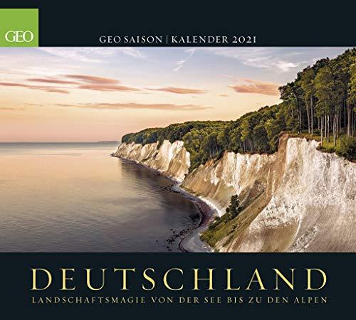 GEO SAISON: Deutschland 2021 - Wand-Kalender - Poster-Kalender - Landschafts-Fotografie - 50x45: Landschaftsmagie von der See bis zu den Alpen
