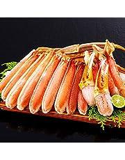 生 ズワイガニ 【 笑顔の食卓 匠 】 【北海道近海産】生北海松葉がに半むき身セット 2kg超