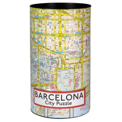 Extragoods City Puzzle – Barcelona Premium Puzzle para adultos, puzzle de ciudades