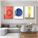 ZXYFBH Cuadros Decoracion Salon Mármol Abstracto nórdico Textura 3D Lienzo Pintura Impresa en la Pared Imagen artística Póster HD Decorativo Sala de Estar Decoración del Dormitorio 7.8x11.8in (20x30c