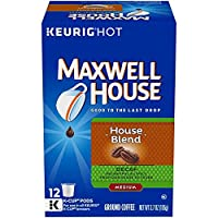 Maxwell House House Blend Coffee K Cup Pods, Decaffeinated, 12 ct - 3.7 oz Box [並行輸入品]