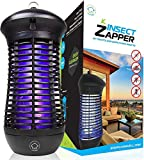 Livin' Well Bug Zapper - 4000V High Powered Electric Mosquito Killer and Insect Zapper Trap with 1,500 Sq. Feet Range...