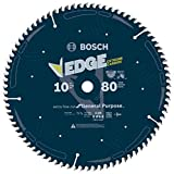 BOSCH DCB1080 Daredevil10-Inch 80-Tooth Extra-Fine Finish for Melamine and...