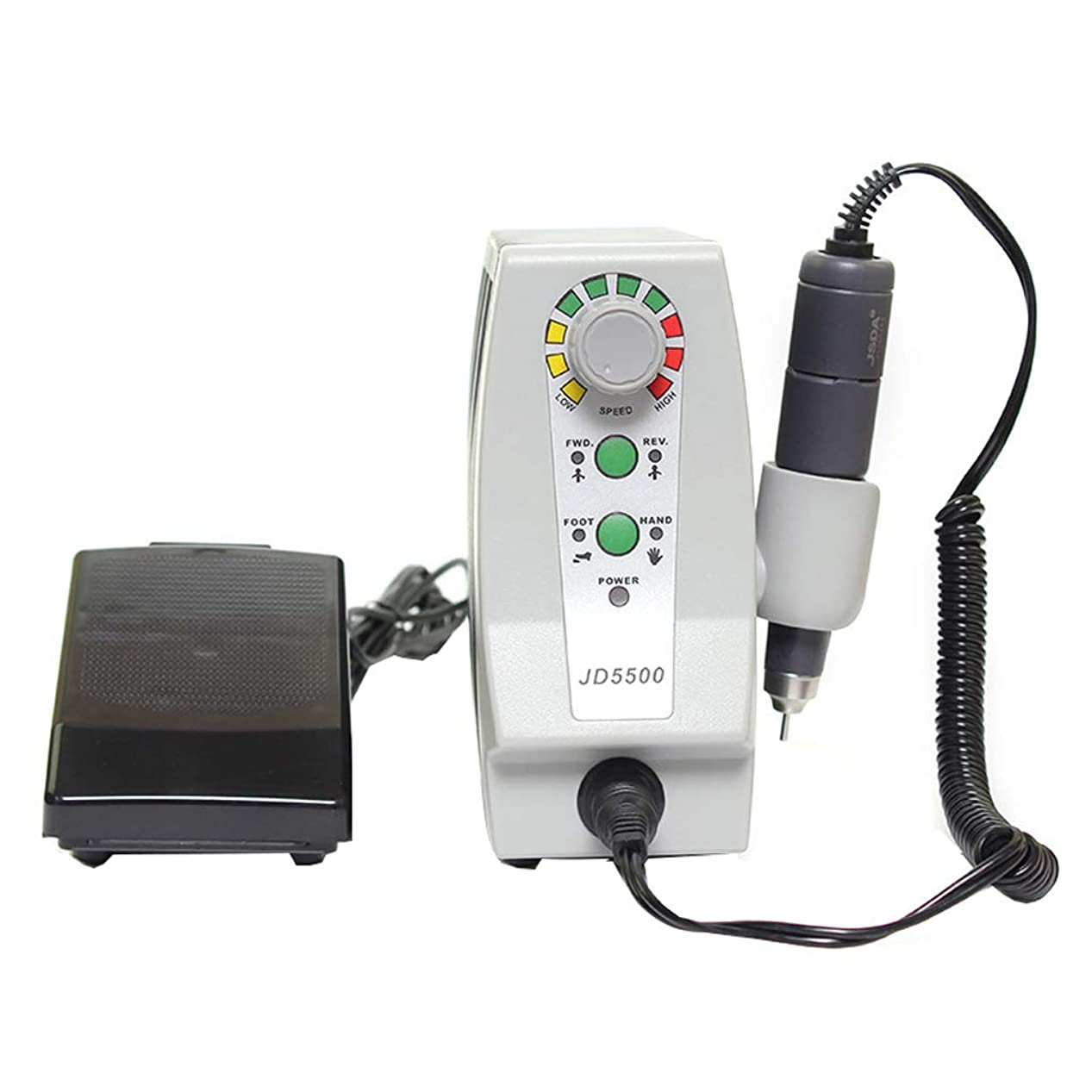 普通のフリースライター35,000回転ネイルポリッシャー電動アクリルマニキュアペディキュア美容ツール