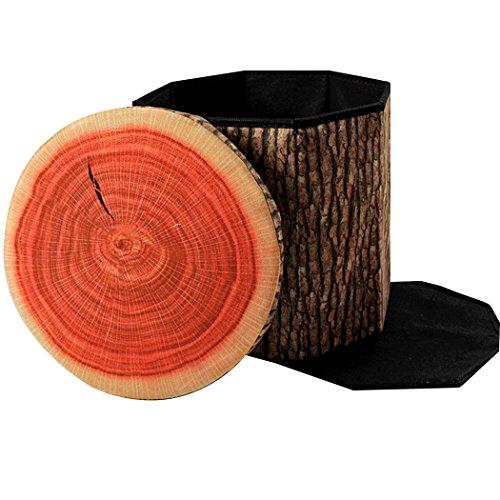 Klappbarer Hocker Stauraum Cute Sitz für Kinder Spielzeug Aufbewahrungs Hocker Box Home und Bar erhältlich, Stump, 30*30cm