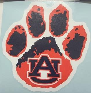 Auburn Tigers AU LOGO WITH PAW 6