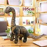 Thuydm Shop Dinosaur Plush 5 Styles Simulation Dinosaur Plush Toys Soft Cartoon Pillows Lifelike Tyrannosaurus Stuffed Doll for Boys Birthday Gift-Big Seismosaurus