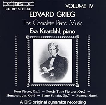 Grieg: Complete Piano Music, Vol. 4