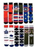 Top Gun 6 Pair Mens Crew Socks