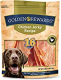 Golden Rewards Chicken Jerky Recipe for Dogs (Made with Real Chicken Breast), 16 Oz