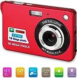 Bosszi Fotocamera Digitale Mega Pixel HD Ricaricabile