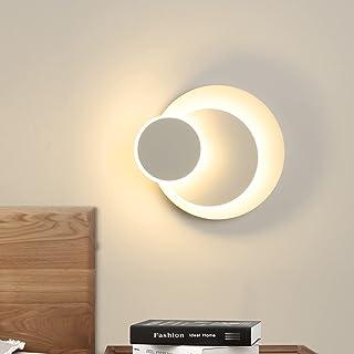 Applique Murale Intérieur LED 15W 3000k Blanc Chaud, Ketom Applique Murale Moderne, Applique Murale de Bricolage, Éclairag...