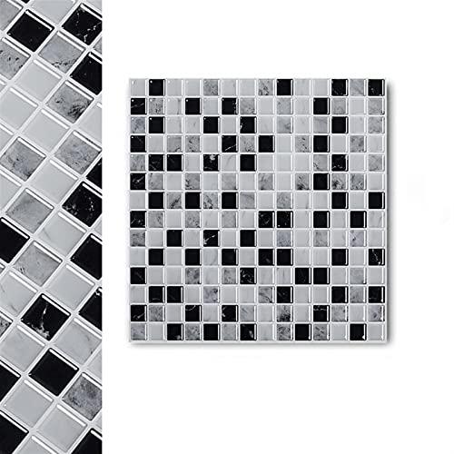 Autoadesivo da muro di mosaico autoadesivo Adesivo da parete, 3D decorazione della casa Adesivo delle mattonelle, cucina fai da te e bagno Autoadesivo for la casa in vinile Autoadesivo autoadesivo aut