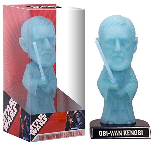 Wacky Wobbler Star Wars Obi WAN Spirit Glow-in-The-Dark Bobble-Head PVC APPR 16cm Funko