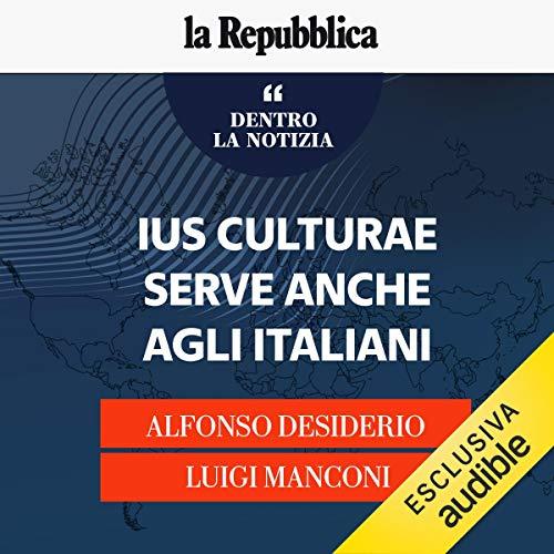 Ius culturae, serve anche agli italiani copertina
