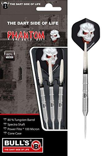 BULL'S Phantom PT4 Steel Dart, Silber, 22g