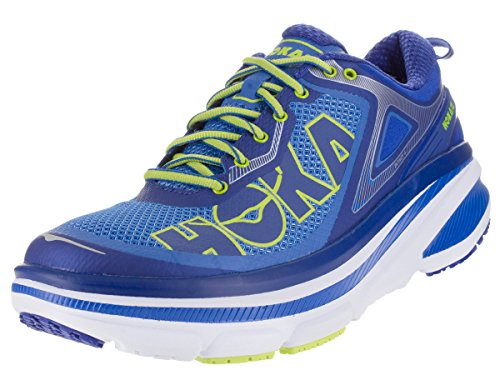 Price comparison product image HOKA ONE ONE Men Bondi 4 Running Sneaker Shoe,  Directoire Blue / Trueblue,  US 14