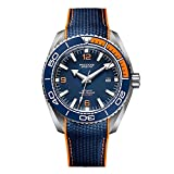 ROCOS Watches for Men - Pro Diver Watch - Sports Watch for Men with Screw Down Crown for 10ATM of Water Resistance - Analog Dial, Automatic Movement - Mens Watches Collection - R0146 (Blue)