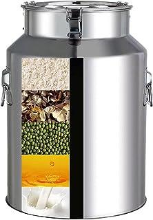 Seau à Lait laitier scellé/boîte à Lait en Acier Inoxydable/Seau à vin Pot de Stockage de Liquide d'eau/Baril d'huile/boît...