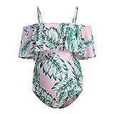 LUNULE VENMO Trajes de baño de Maternidad bañadores Premamá para Mujer Verano Tankini Embarazada bañadores de Mujer Sexy Ropa de Playa Ropa Premamá
