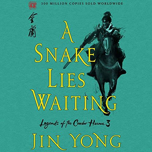 A Snake Lies Waiting audiobook cover art