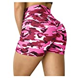 LEXUPE Femmes Leggings Sport Short De Yoga Serré Femmes Short De VéLo Slip De Base EntraîNement De Compression Leggings Yoga Shorts