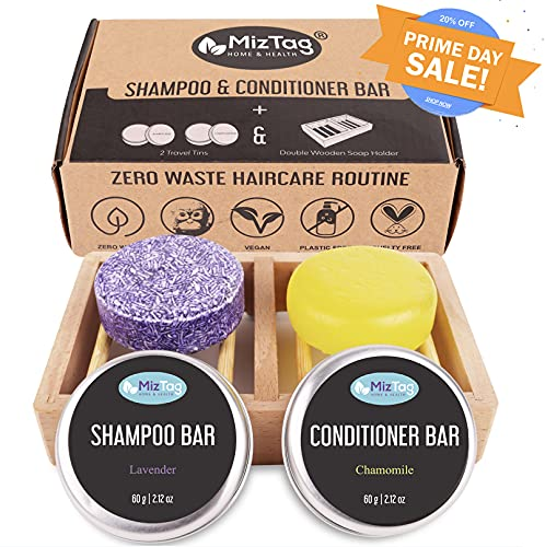 Shampoo Bar and Conditioner - Shampoo Bars for Hair - Solid...