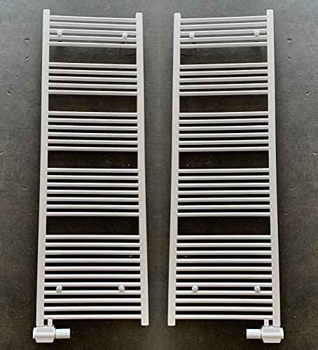 MC Heat Badheizkörper Handtuchheizkörper mit Anschluss Links oder rechts   Heizkörper mit versetztem Mittelanschluss (400 * 1200 mm)