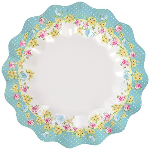 Party Street - 10 Piatti Shabby Chic Cm 27