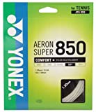 ヨネックス(YONEX) 硬式テニス ストリングス エアロンスーパー 850 (1.30mm) ATG850 ホワイト