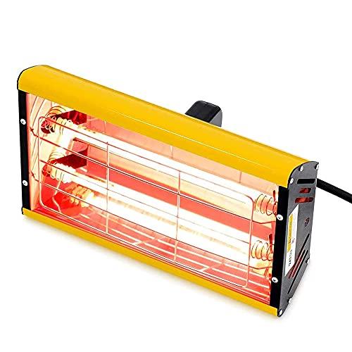 2000W Secador Infrarrojos Pintura Lámpara de Curado de Coche Secador de Pintura Infrarrojo de onda corta de mano Lámpara de Calefacción Infrarroja para Reparación de Carrocería (220V EU)