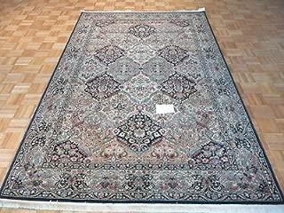 4'3 x 6 KARASTAN Rug Empress KIRMAN Black