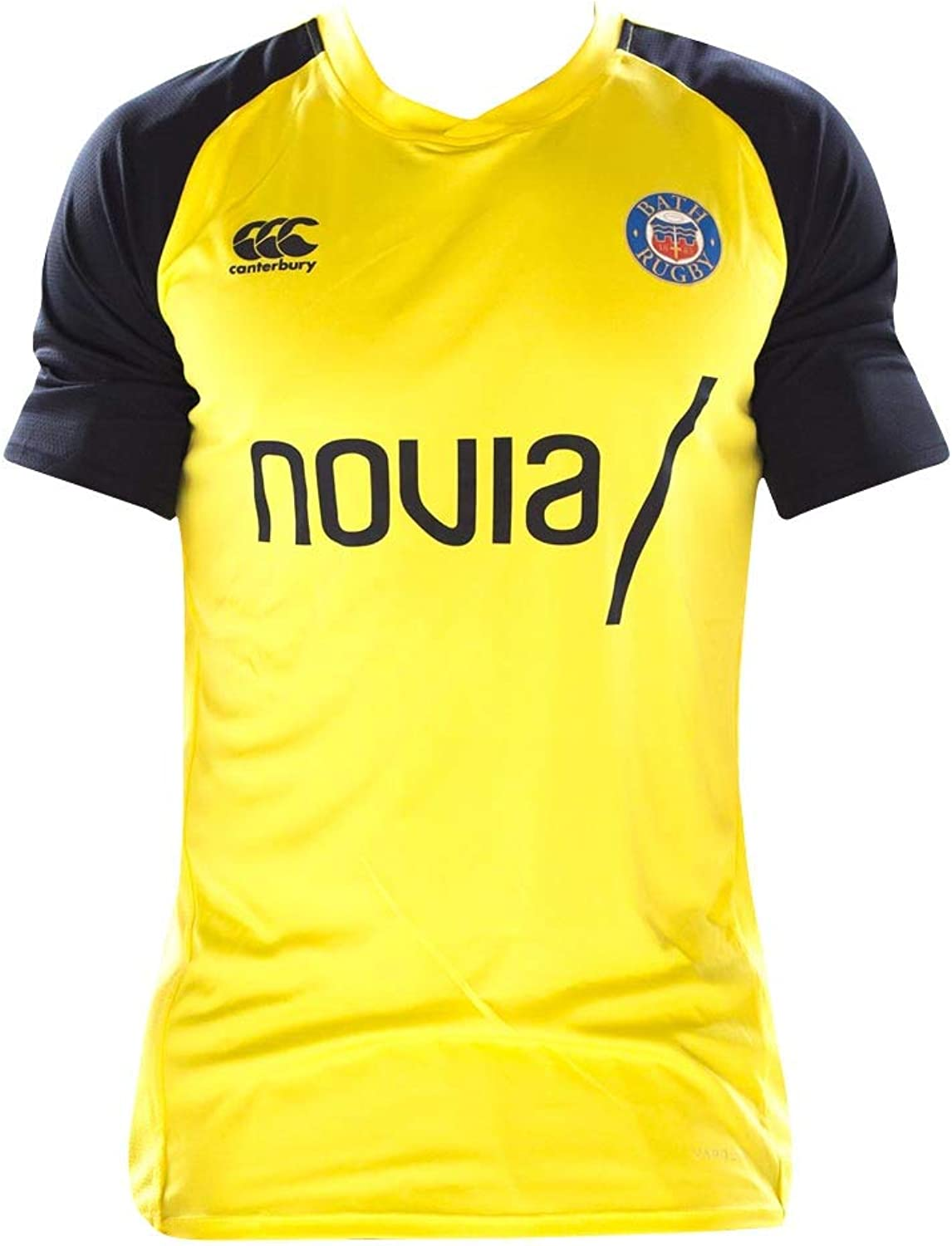 Canterbury 2018-2019 Bath Rugby Rugby Rugby Vapordri Poly Superlight Tee (Gelb) B07GFW8P46  Moderate Kosten 52e0ad