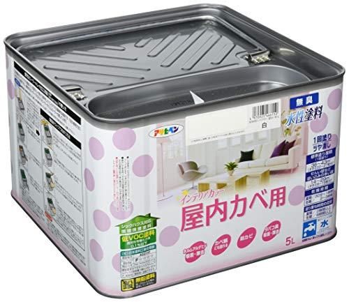 水性インテリアカラー 屋内カベ用 5L