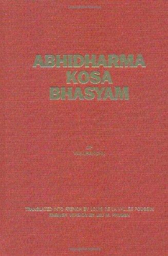 Abhidharmakosabhasyam, 4 Volume Set (English, French and Sanskrit Edition)