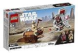 LEGO Star Wars - Microfighters: Saltacielos T-16 vs. Bantha, Juguete de La Guerra de las Galaxias una Esperanza, Incluye Minifigura de Piloto, un Bandido y Bantha (75265)