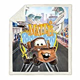 Trduast Mater Cars Cozy Luxury Bed Throw Blanket Soft Fleece Blanket Sofa Chair Bed Couch for Kids Boys Girls 50'x 40'