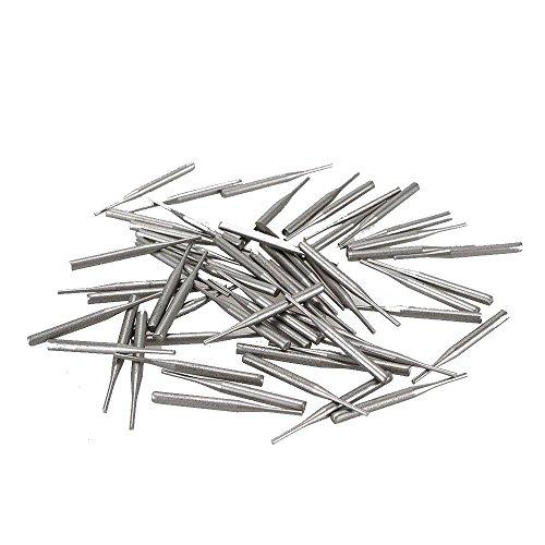Earlywish 60 clavos de metal para laboratorio de laboratorio dental placas de cocción