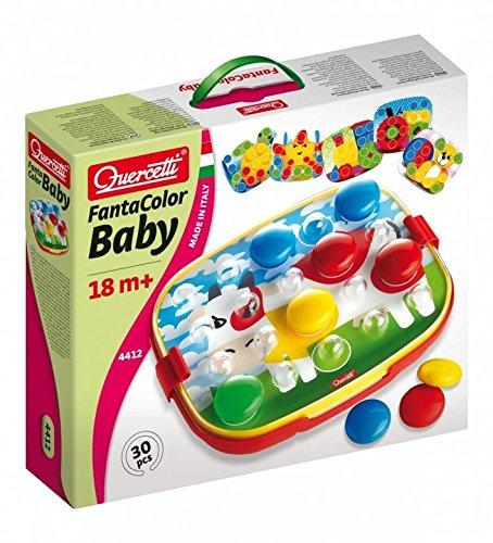 Quercetti 4412 4412-Fanta Color Baby, Spiel und Puzzle, bunt
