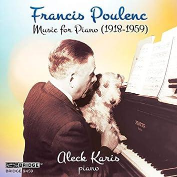 Poulenc: Music for Piano