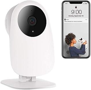 Nooie 1080P Wireless Vigilancia IP HD Home Cámara detección de Movimiento y Sonido 2 Way Audiohogar/Mascota/bebé Monitor WiFi y aplicación para iOS/Android
