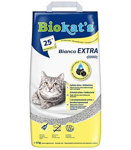 Biokat's Bianco Extra Classic - Lettiera 5 kg Extra Classic