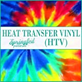 LARGE TIE DYE PATTERN #1 HTV Heat Transfer Vinyl 12'x36' Hippie Pattern for Shirts…
