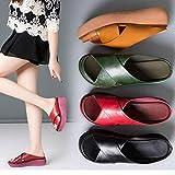 EVR Sandalias Mujer Verano 2020 Zapatos de Plataforma Mujer Cuña Zapatos de Boca de Pescado Playa Zapatillas Sandalias de Punta Abierta Casual Fiesta Roman Tacones Altos Sandalias,Negro,37