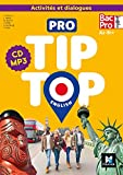 PRO TIP TOP ENGLISH 1re-Tle Bac Pro - Ed. 2020 - CD Audio